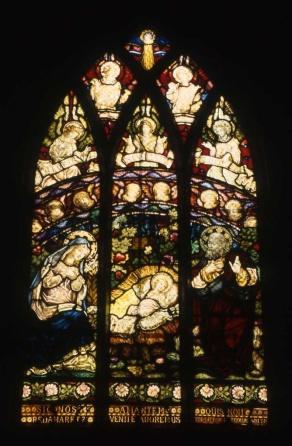 Collingwood St Josephs RC Church Nativity Hughes and Rogers 1891