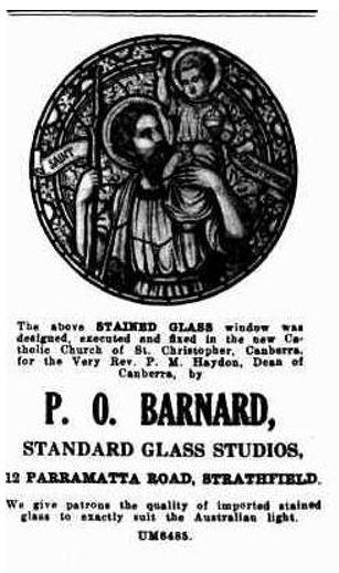 barnard advert catholic press kw